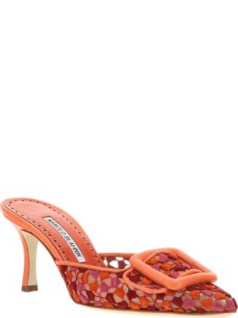 Manolo Blahnik Maysale Sandals