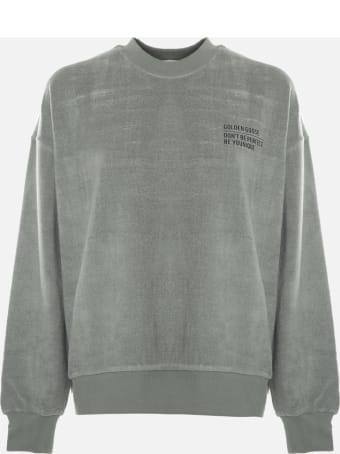 Golden Goose Oversized Delvina Sweatshirt In Chenille