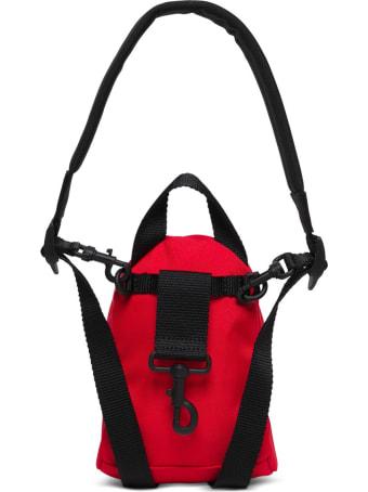 Balenciaga Mini Oversize Backpack In Red Tech Canvas