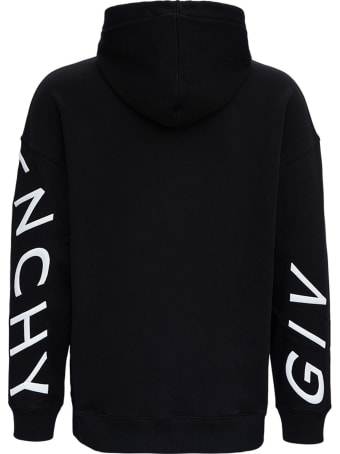Givenchy Cotton Hoodie Refracted Logo