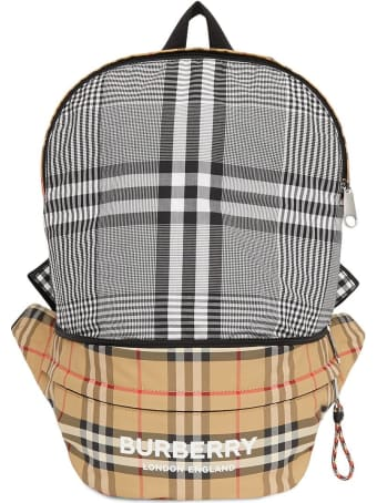 Burberry Vintage Check Nylon Backpack