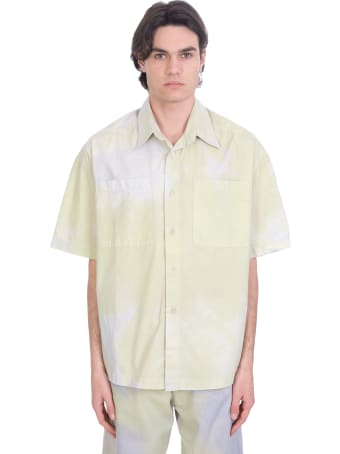 Bonsai Shirt In Green Cotton