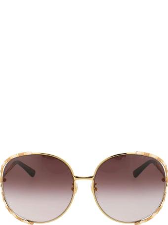 Gucci Gucci Gg0595s Gold Sunglasses