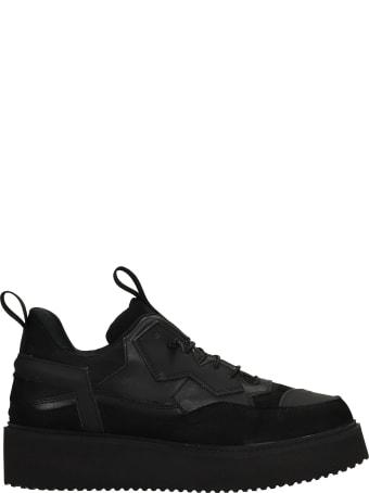 Bruno Bordese Pulsar Sneakers In Black Leather