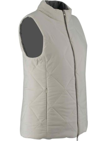 D.Exterior Padded Gilet Without Sleeves