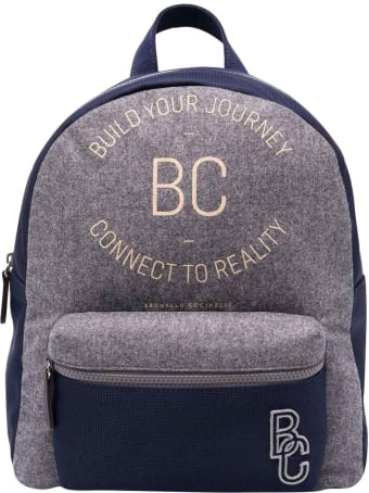 Brunello Cucinelli Two-tone Unisex Backpack