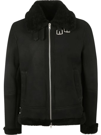 DFour Fur Trimmed Zip Jacket