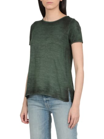 Avant Toi T-shirt With Wide Neckline