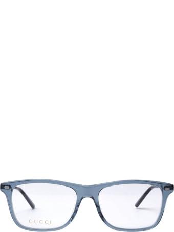Gucci Gucci Gg0519o Transparent Grey Glasses