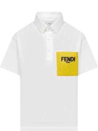 Fendi Kids Polo