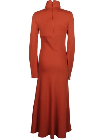 16arlington Odessa Twist Neck Midi Dress