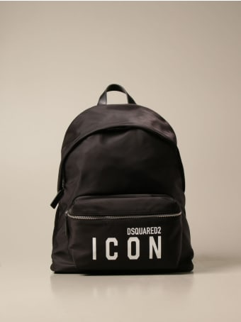Dsquared2 Backpack Icon Dsquared2 Backpack In Nylon With Logo