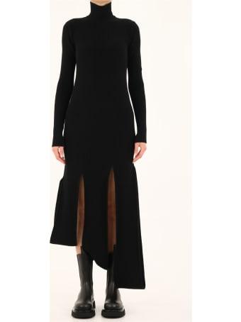 Bottega Veneta Black Knitted Dress