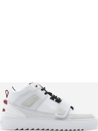 Mason Garments Firenze Mid Sneakers In Leather