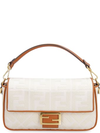 Fendi Baguette Fabric Shoulder Bag