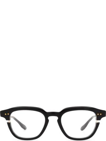 Dita Dita Dtx702-a-01-z Black & White Gold Glasses