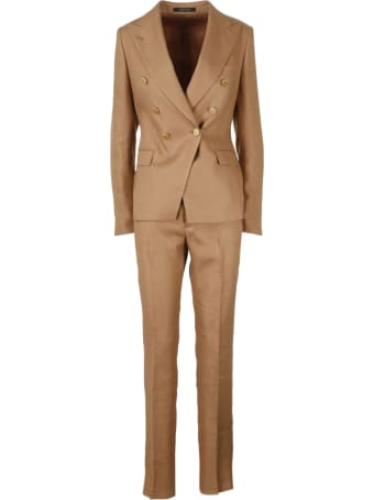 Tagliatore Linen Twill Suit