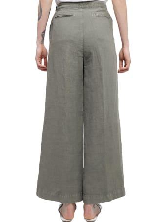 Massimo Alba Green Salpa Trousers