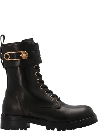 Versace 'safety Pin' Shoes