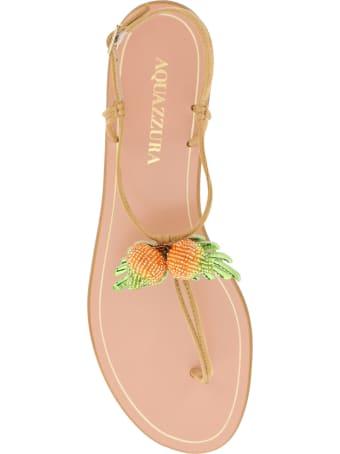 Aquazzura Manguito Flat Sandals