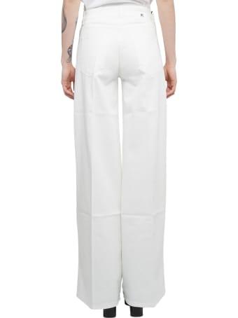 PT01 Pt Torino White Cyndi Jeans