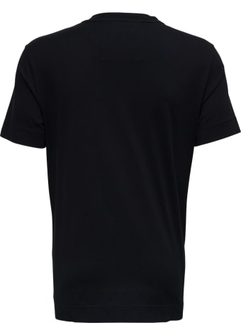 Givenchy Black Jersey T-shirt With Print