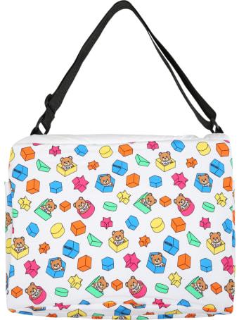Moschino White Bag For Babykids