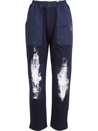 Yoshi Kondo 'jamp' Cotton Trousers