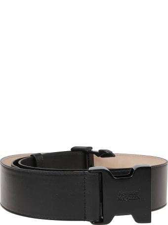 Alexander McQueen Tuck Buckle Belt