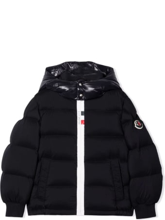 Moncler Navy-blue Padded Down Jacket
