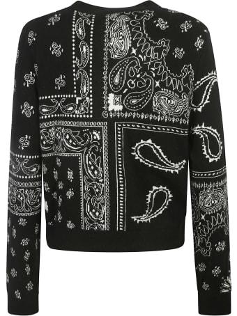 MC2 Saint Barth Paisley Embroidered Cardigan
