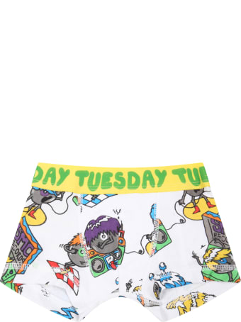 Stella McCartney Kids Multicolor Set For Boy With Monsters