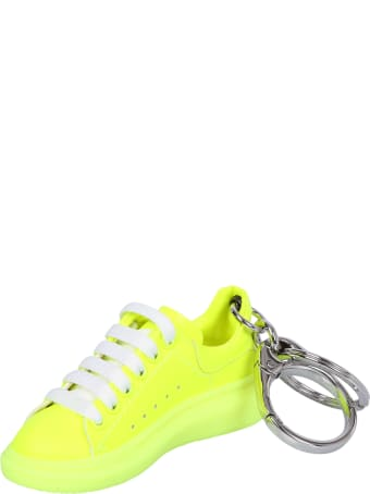 Alexander McQueen Yellow Keychain