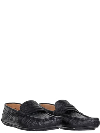 Barrett Loafer In Woven Leather