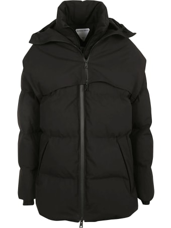 Bottega Veneta Frosted Popeline Padded Jacket