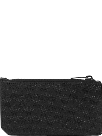 Saint Laurent Monogram Fragments Card Holder