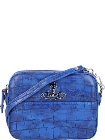 Vivienne Westwood Johanna Croc Crossbody Bag