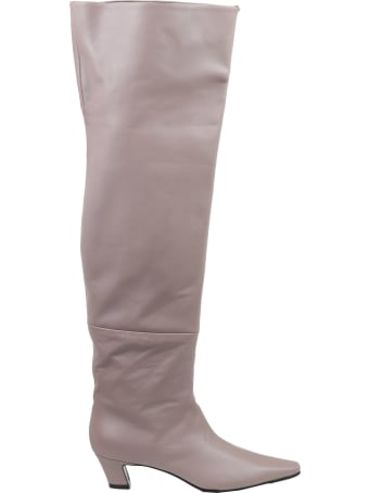 Luca Valentini Taupe Boots