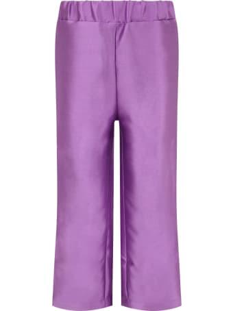 Bo(y)smans Purple Pants For Boy