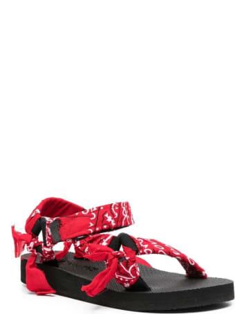 Arizona Love Trekky Bandana Red Sandals