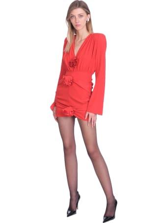 Magda Butrym Dress In Red Silk