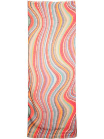 Paul Smith Swirl Print Scarf
