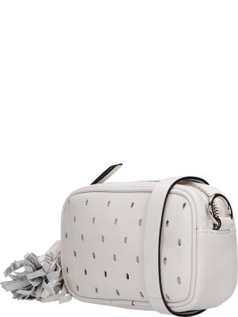 Valentino Shoulder Bag In White Leather Valentino