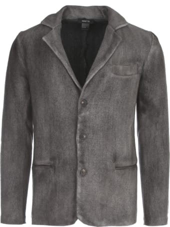 Avant Toi Micro Mat Stitch Rever Jacket With Tonal Effect
