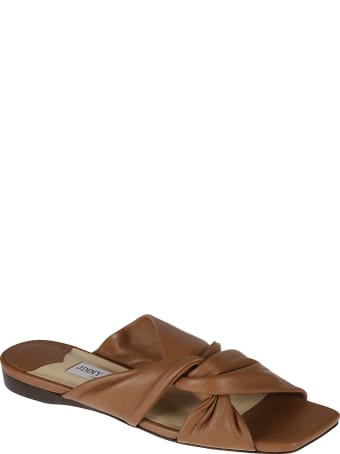 Jimmy Choo Narisa Flat Sandals