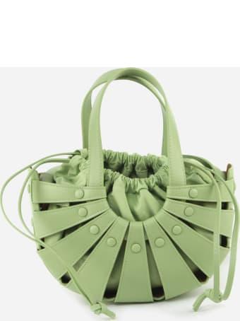Bottega Veneta The Shell Bag With Leather Cut-out
