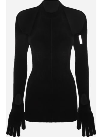 Peter Do Ribbed Sweater With Cut-out Details