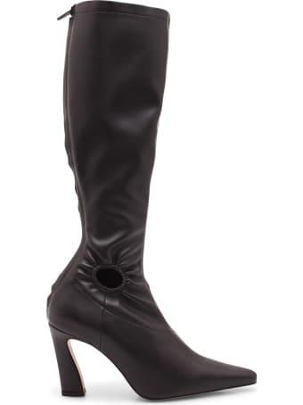 Kalda 'fory Knee Vegan' Leather Boots
