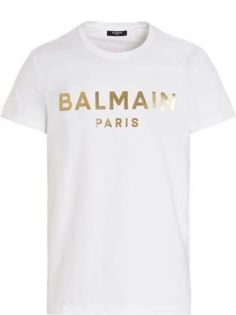 Balmain 'foil' T-shirt