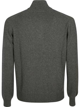 Loro Piana Zip Placket Turtleneck Sweater